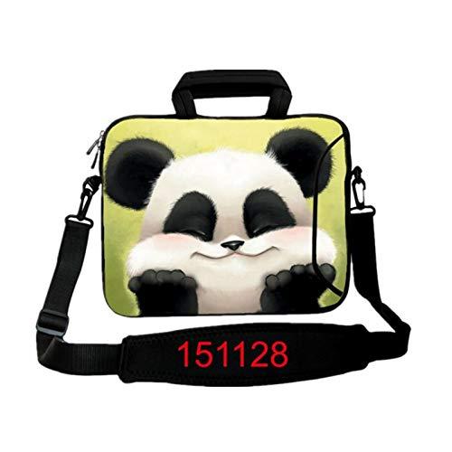 ZRH 9.7 10.1 11.6 12.1 13.3 14.1 15.4 15.6 17.3 17.4 Bolso De Hombro De La Computadora De Hombro con Tableta Funda para MacBook HP ASUS Acer HP Lenovo #D (Color : 151128, Size : 10 Inch)
