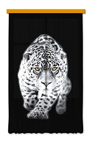 Gardine/Vorhang FCS L 7503, Tiger, 140 x 245 cm, 1 teil
