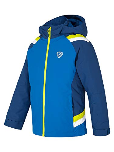 Ziener Jungen Aver jun (Jacket ski) Kinder Skijacke, Winterjacke/Wasserdicht, Winddicht, Warm, True Blue, 140