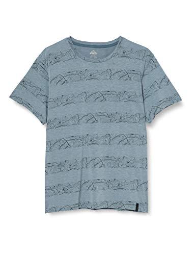McKINLEY T- Shirt Robson Homme, Bleu (Aop/Navy), XXL