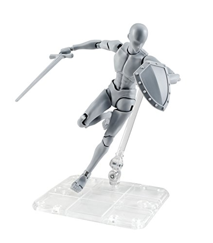 Bandai-56028-Body Kun Takarai Rihito DX - Set de Figuras, Color Gris, 16137