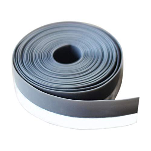1 stuks zelfklevende afdichtstrip 1M siliconen deurraam ontwerp stofdichte tochtstrip LO88, grijs, 35 mm