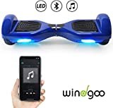 Windgoo Hoverboard 6.5' Bluetooth Balance Board Patinete Eléctrico Scooter Talla LED 250W*2...