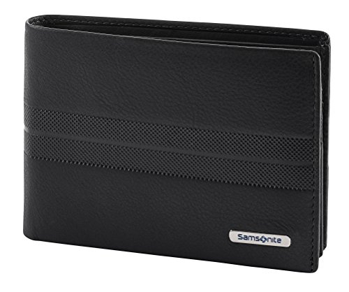 Spectrolite SLG - Billfold for 9 Creditcards, 2 Compartments Tarjetero, 13 cm, 0 Liters, Negro (Black/Night Blue)