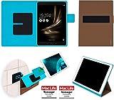 Hülle für Asus Zenpad 3S 10 Z500KL Tasche Cover Hülle Bumper | in Braun | Testsieger