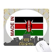 ケニアカントリーラブに クリスマスイブのゴムマウスパッド