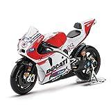 LYXin 1:18 Motocicleta Modelo Aleación Racing Car Moto de montaña i No.4 Motocross para niños Colección-A02