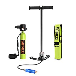 powerful SMACO scuba tank, portable mini diving cylinder S300 + diving capacity 5-12 minutes, …
