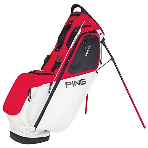 PING 2019 Hoofer 14 181 Stand Bag Scarlet/White/Black