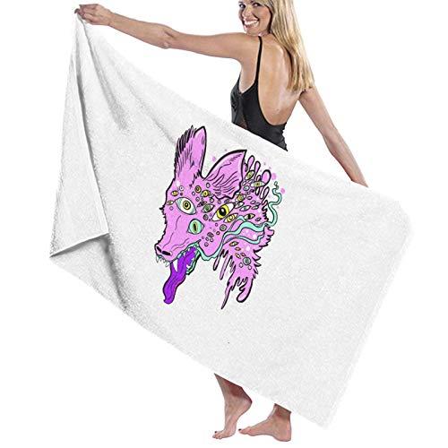 U/K Wolf - Toalla de baño (secado rápido)