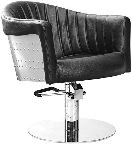 Comair 7001132Tropez Distancia silla diseño retro con bomba hidráulica, bloqueable, color negro