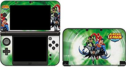 Skinit Decal Gaming Skin for 3DS XL 2015 - Officially Licensed Warner Bros Justice League Team Power Up Green Design
