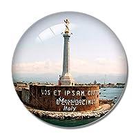 イタリアメッシーナ記念碑シーシチリア冷蔵庫マグネットホワイトボードマグネットオフィスキッチンデコレーション