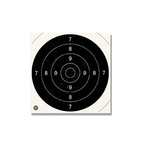 Europarm - Cibles 21 x 21 pour Armes de Poing