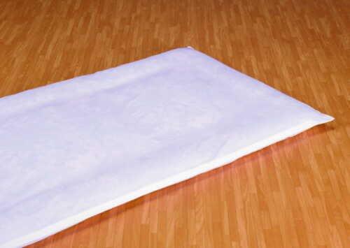 ノーブランド品 日本製 ファスナー使い包布敷き布団カバー ジュニアサイズ用105×185cm
