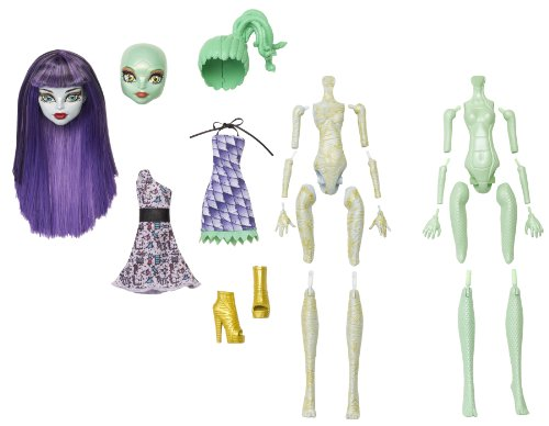 Monster High Create-A-Monster Starter Set - Mumie + Gorgon-Monstergirl