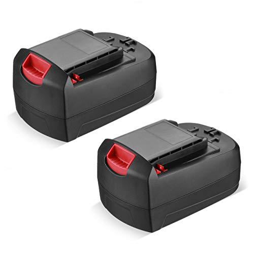 2Pack 3000mAh 18-Volt Battery SB18C SB18A SB18B for SKIL 18-Volt Ni-Cd Cordless Tools 2810 2888 2895 2897 2898 4570 5850 5995 7305 9350