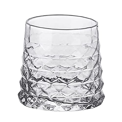 HMGANG Copas de Vino Copas de Vino de Cristal Whisky Spirits clásicos de Vino Extranjero Copa de Vino Creativo Hockey de Hielo Hockey Licor Spirits Extranjero Vino Olor huele (Color : D2 340ml)