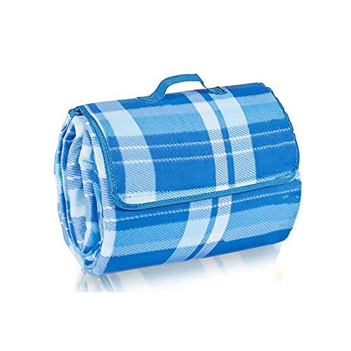 Kabxhueo Manta Picnic Impermeable 200 * 200cm Manta de Picnic Portable Impermeable Plegable al Aire Libre Hojas de Tierra sandproof Esterilla para la Playa para Acampar Viajar Actividad al Aire Libre