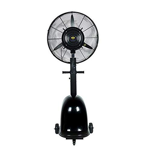 FUFU Climatizadores evaporativos Ventilador de nebulización de alta potencia, configuración de 3 velocidades, ventilador de enfriamiento oscilante a 90 ° Ideal para restaurantes, entretenimiento, hosp