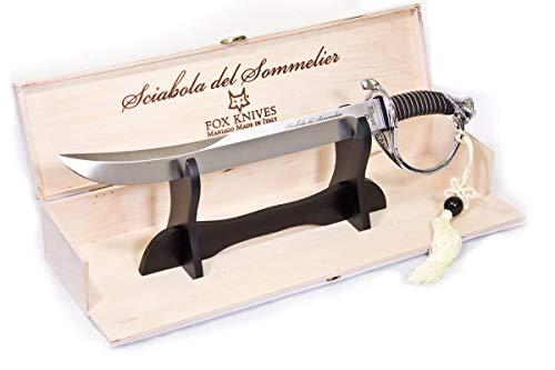 FOX - Champagner Säbel für Sommelier - Stahlgriff