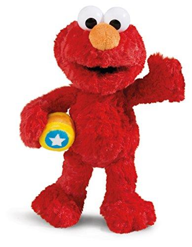 NICI 41959 Monster Elmo Sesamstraße Kuscheltier, rot, 35 cm