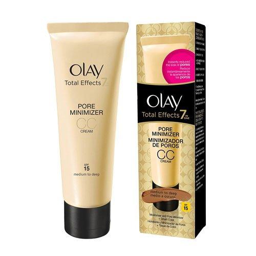 Olay Total Effects 7 en 1 Minimizador de Poros CC Cream Oscuro SPF 15-50 ml