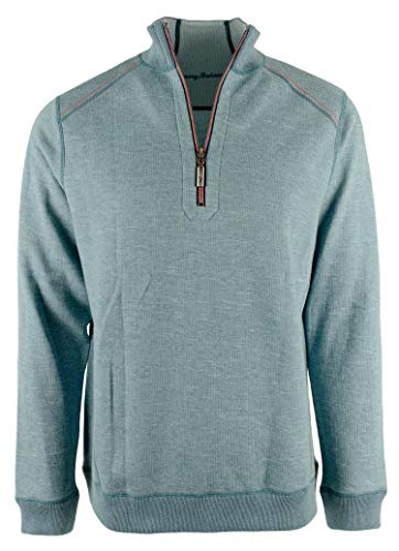 Tommy Bahama Flip Side Classic Flip Zip (Color: Seagrove Heather, Size XXL)