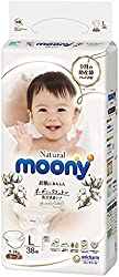 Moony Natural Tape, L, 38 Count (Packaging may vary)
