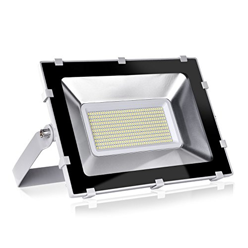 Viugreum TOP DELLA GAMMA Faro 200W Fari LED Lampade per Esterni, Impermeabili, 24000LM, LUCE BIANCA NON GIALLA Illuminazione a Giorno (6000-6600K), Lampada Potente Super Luminosa, Faretto per Giardino