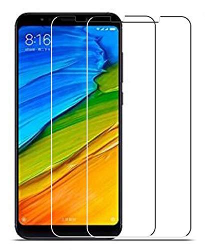 Vicstar [2 Stück] Xiaomi Redmi 5 Plus Panzerglas Bildschirmschutzfolie, 9H Festigkeit Anti-Kratzen Anti-Öl 99prozent Transparenz [2.5D Folie] [Bubble Free] Schutzfolie für Xiaomi Redmi 5 Plus