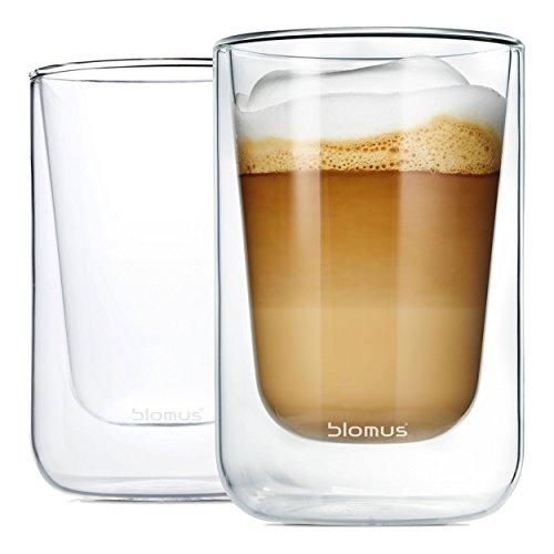 Blomus Set van 2 Thermo-espresso-glazen Nero
