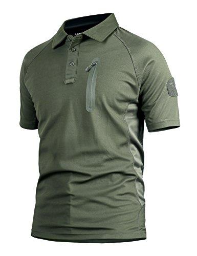 YFNT Camisa Militares De Polo De La Solapa De Los Hombres Camuflaje...