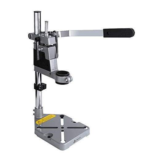 Soporte de Taladro Columna Ajustable para Banco Taladro de Prensa Diámetro de 43mm o 38mm Herramienta de Reparación de Banco de Trabajo para la Perforación