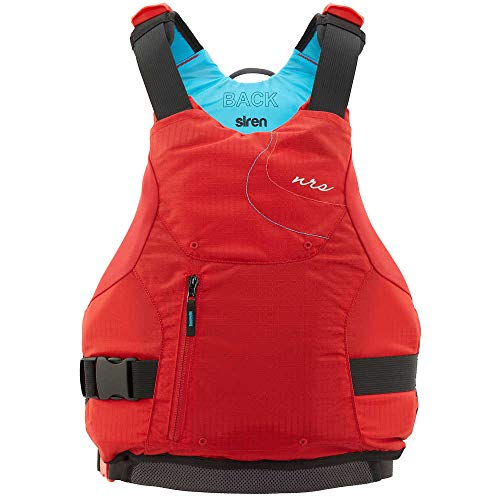 NRS 40036.03.100 Paddling Kayaking PDF Women's Siren Low-Profile Jacket Size L/XL, Red