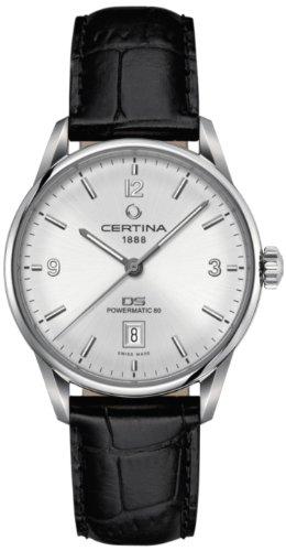 Certina Herren-Armbanduhr XL Analog Automatik Leder C026.407.16.037.00