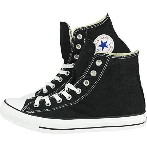 Converse Mens All Stars Hi Top Mens entrenadores, color Negro, talla 8.5 UK