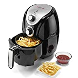 With4.5L Food Basket capacity, this air-fryer serves the whole family. It makes your cooking effortless and is suitable for every occasion Compared with traditional oven, it cooks faster and ends with crispier food surface. Compared with deep fryer...