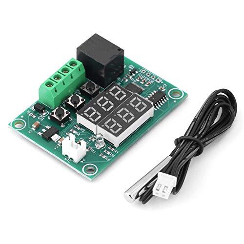 Tablero de interruptor de termostato Tablero de controlador de temperatura digital LED dual Tablero de termostato, para equipos industriales