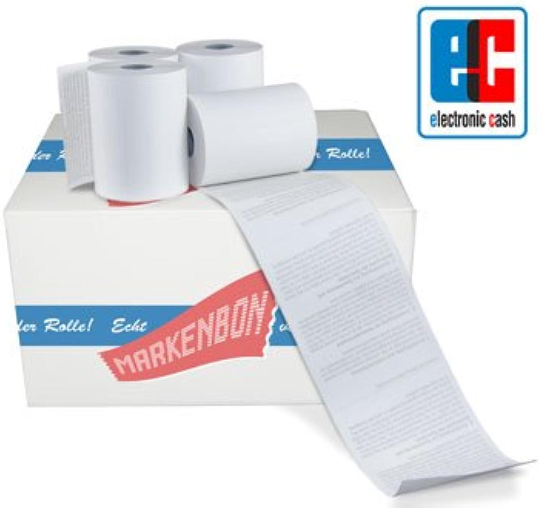 Thales Artema ThermGoldlle EC-CashTerminalrolle 17,5m Rückseite mit Lastschrifttext (50 Stk) markenbon original B07MPBV2KK | Outlet Online