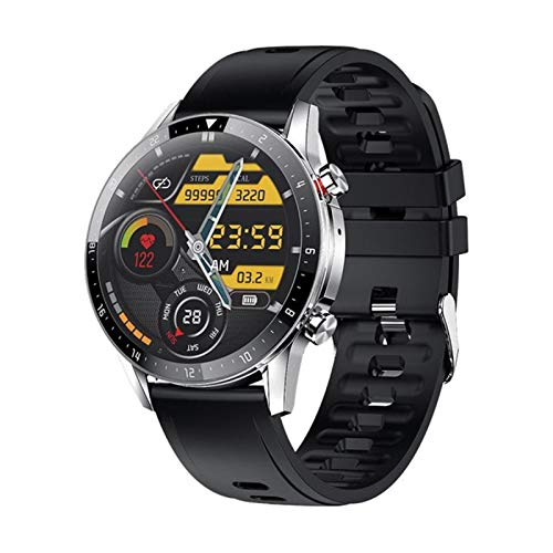 Menores Z08S Smart Watch Fitness Tracker Bluetooth Call Call Heart Rate Presión Arterial Monitor Smartwatch para Android iOS,D