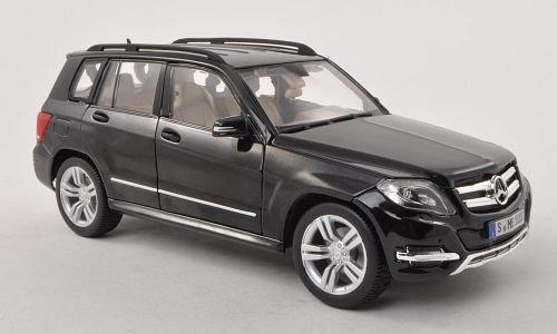 Mercedes GLK-Klasse, schwarz , Modellauto, Fertigmodell, Maisto 1:18