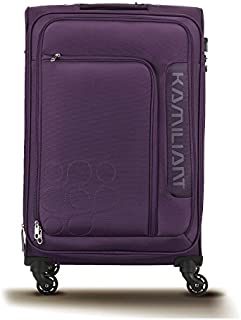 Kamiliant by American Tourister Boho Softside Spinner Luggage 69cm with 3 digit Number Lock - Purple