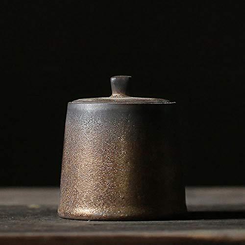 BBZ 1 stück Japanische Keramik Teedosen Vintage Porzellan Tee Kanister Für Tee, Stil A