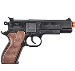 6.75 Inch Cap Pistol One per order Fires 8 Rings. Caps Sold Separately Perfect for Gifts, Party Favors & Game Prizes Ages 8+