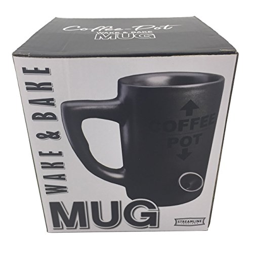 Black Novelty Coffee Mug - Gift Box Included