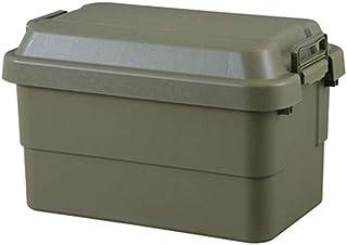 トランクカーゴ 50L 収納ケース 収納ボックス オリーブ グリーン ミリタリー調 シンプル フタ付き 蓋付き
