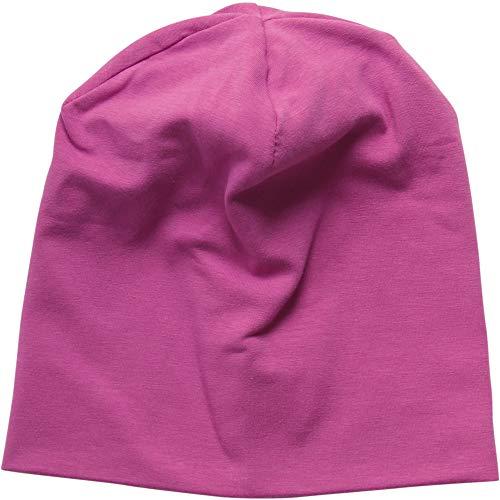 Fred'S World By Green Cotton Alfa Beanie Bonnet, Violet (Violet 018302708), 56/62 Bébé Fille