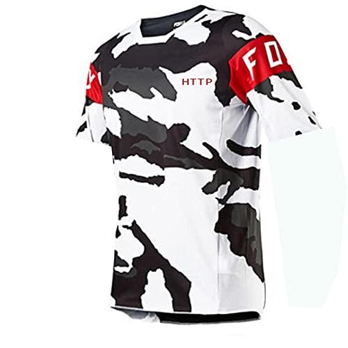 Maillot Ciclismo Hombre 2021 Vtt Fox Maillot De Motocross Descente Tshirt Http...