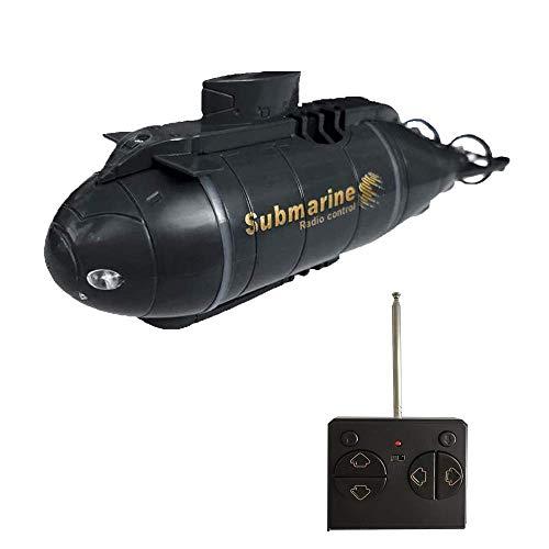 YEIBOBO ! 6 Channels Mini RC Submarine Toy (Black)